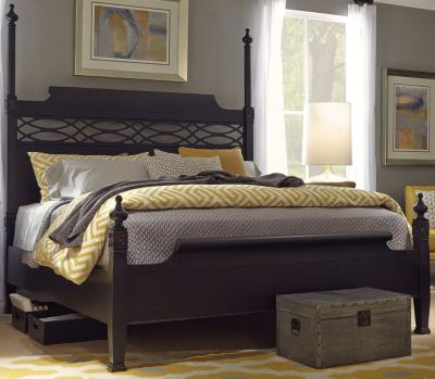 Aspen Young Classics King Poster Bed