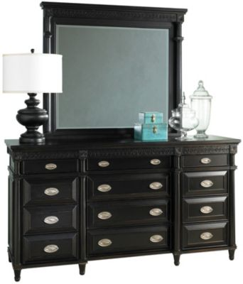 Aspen Young Classics Dresser with Mirror