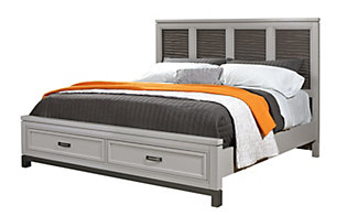 Aspen Hyde Park Queen Panel Storage Bed
