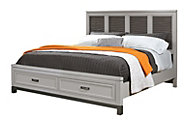 Aspen Hyde Park King Panel Storage Bed