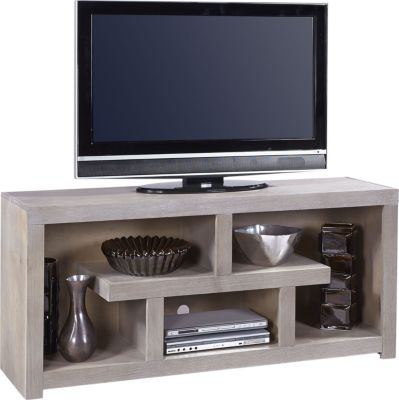 Aspen Contemporary Driftwood 60-Inch Console