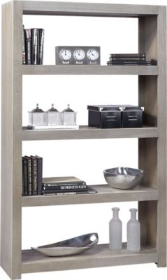Aspen Contemporary Driftwood Bookcase