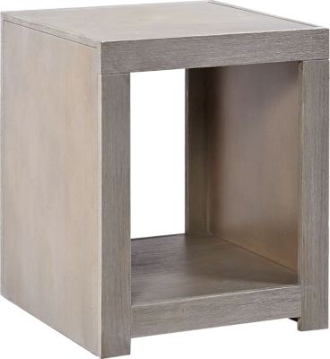 Aspen Contemporary Driftwood End Table