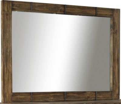 Aspen Dimensions Reclaimed Wood Mirror