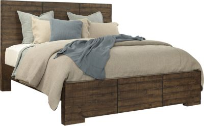 Aspen Dimensions Queen Reclaimed Wood Bed