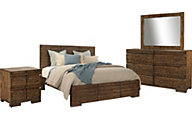 Aspen Dimensions 4-Piece Queen Bedroom Set