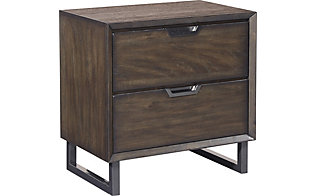 Aspen Harper Point 2-Drawer Nightstand