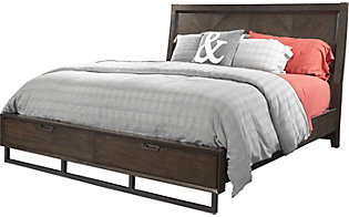Aspen Harper Point Queen Storage Bed