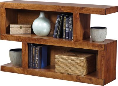 Aspen Contemporary Fruitwood Sofa Table