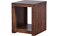 Aspen Contemporary Tobacco End Table