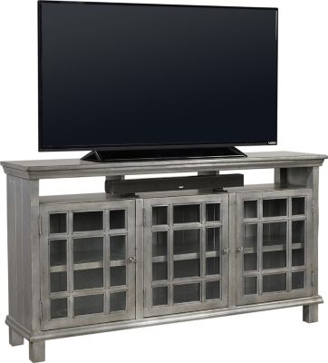 Aspen Preferences 65-Inch Metallic Console