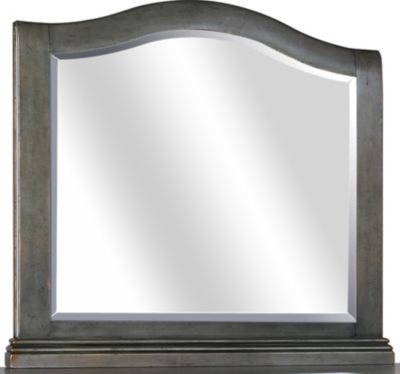 Aspen Oxford Peppercorn Arched Mirror