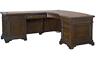 Aspen Essex Desk with Return