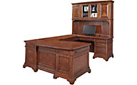 Aspen Hawthorne Executive Desk and Hutch