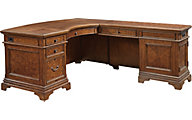 Aspen Hawthorne Desk with Return