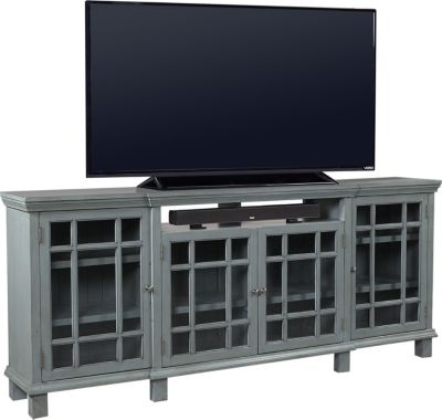 Aspen Preferences 84-Inch Sable Blue TV Stand