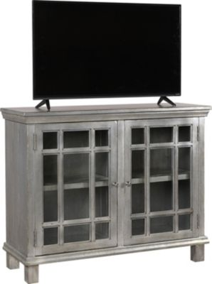 Aspen Preferences 45-Inch Metallic TV Stand