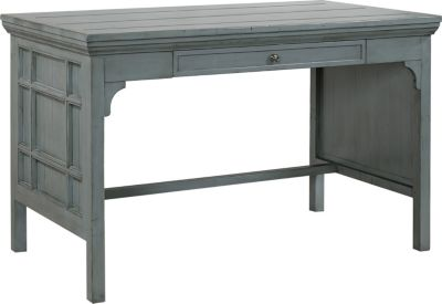 Aspen Preferences 48-Inch Sable Blue Writing Desk