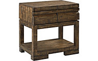 Aspen Dimensions Reclaimed Wood Nightstand