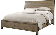 Aspen Tildon King Sleigh Storage Bed