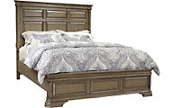 Aspen Arcadia King Panel Bed with Low-Profile Footboard