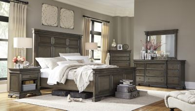 Aspen Arcadia 4-Piece King Panel Bedroom Set