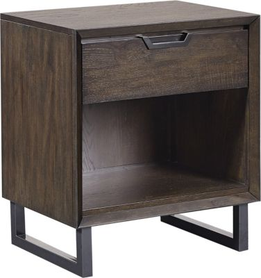 Aspen Harper Point 1-Drawer Nightstand
