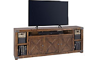 Aspen Urban Farmhouse 84-Inch Fruitwood TV Stand