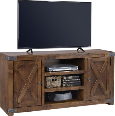 Aspen Urban Farmhouse 60-Inch Fruitwood TV Stand