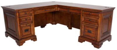 Aspen Centennial Executive Desk & Return