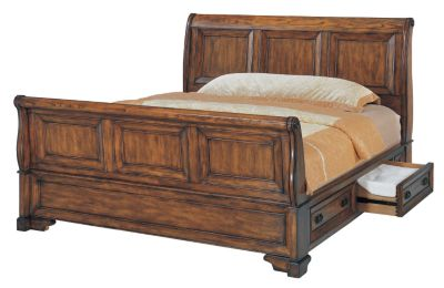 Aspen Centennial King Storage Bed