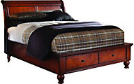 Aspen Cambridge Full Storage Bed