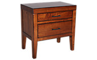 Aspen Tamarind 2-Drawer Nightstand