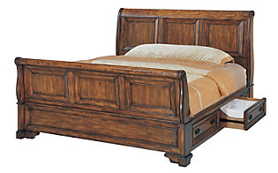 Aspen Centennial Queen Storage Bed