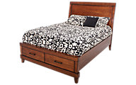 Aspen Tamarind Queen Storage Bed