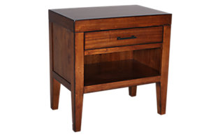 Aspen Tamarind 1-Drawer Nightstand