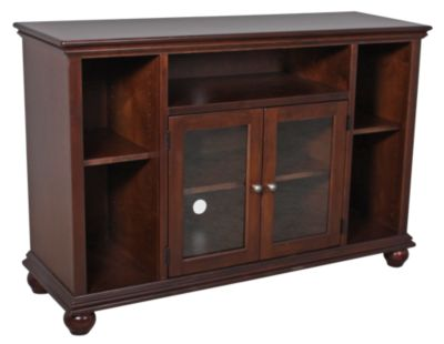 Aspen Casual Traditional Cherry 51-Inch Highboy Console