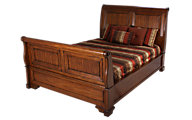 Aspen Centennial King Sleigh Bed