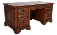 Aspen Centennial Oak Executive Desk