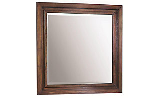 Aspen Walnut Park Mirror
