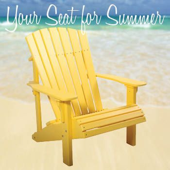 Deluxe Adirondack Chairs Infographic