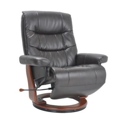 Benchmaster Valencia Large Chocolate Flip-Up Footrest Recliner