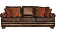 Bernhardt Foster 100% Leather Sofa