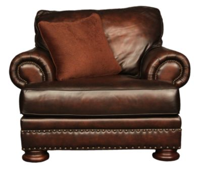 Bernhardt Foster 100% Leather Chair