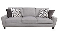 Bernhardt Signature Seating Gray Sofa