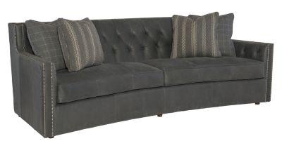Bernhardt Candace 100% Leather Sofa | Homemakers Furniture