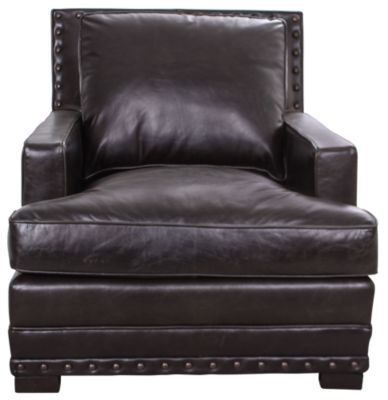 Bernhardt Cantor 100% Leather Chair