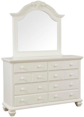 Broyhill Mirren Harbor Dresser with Mirror