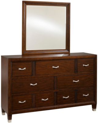 Broyhill Eastlake 2 Dresser with Mirror