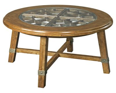 Broyhill Vintage Round Coffee Table